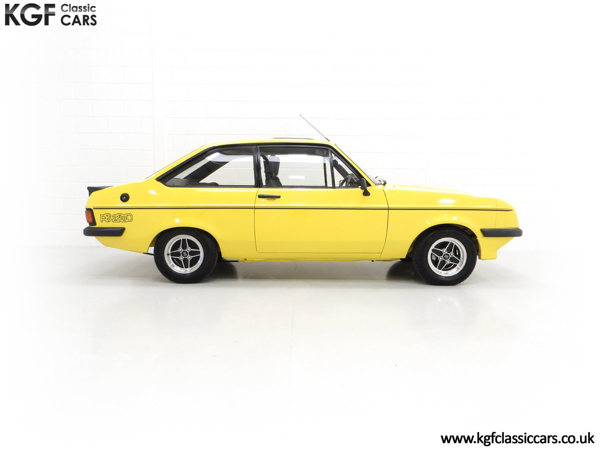 1977 A Genuine Ford Escort Mk2 RS2000 Pre Custom SOLD (picture 10 of 24)