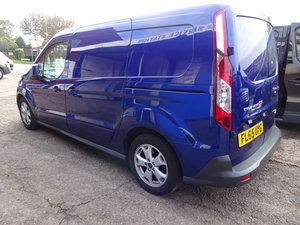 CONECT LWB 65 PLATE BLUE WITH REAR SEATS FITTED SMART NO VAT