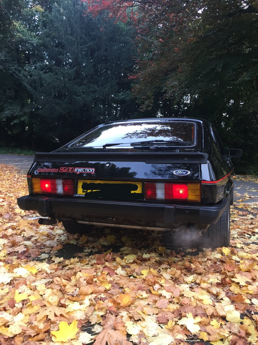 1986 Ford Capri 2.8 special For Sale (picture 2 of 6)