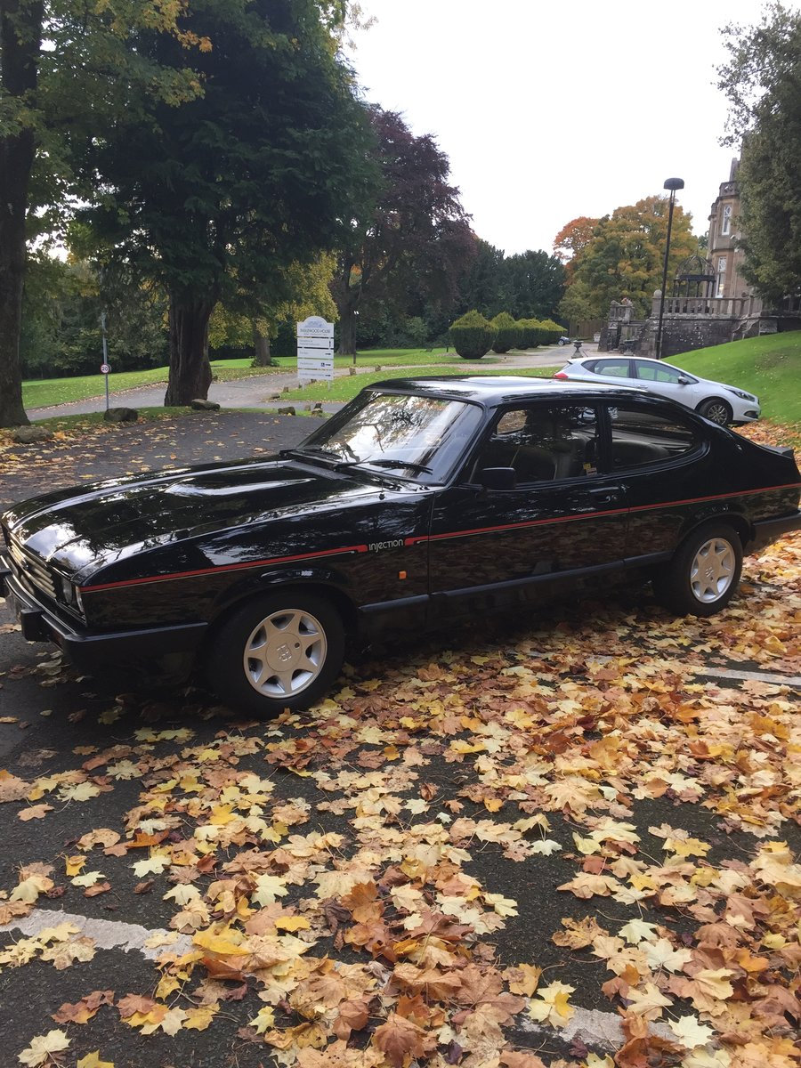 1986 Ford Capri 2.8 special For Sale (picture 5 of 6)