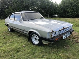 Ford Capri Laser 20 years in storage