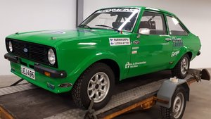 Ford Escort RS 2000 historic FIA Rally Car