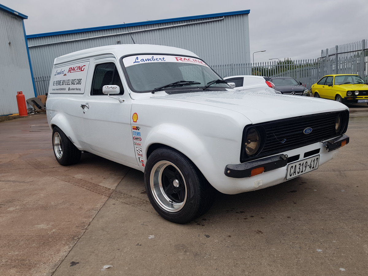 1975 Ford Escort Mk2 Van - Mazda Rotary Turbo engine For Sale (picture 1 of 6)