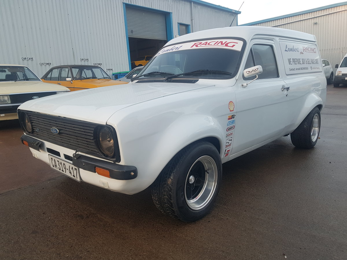 1975 Ford Escort Mk2 Van - Mazda Rotary Turbo engine For Sale (picture 2 of 6)
