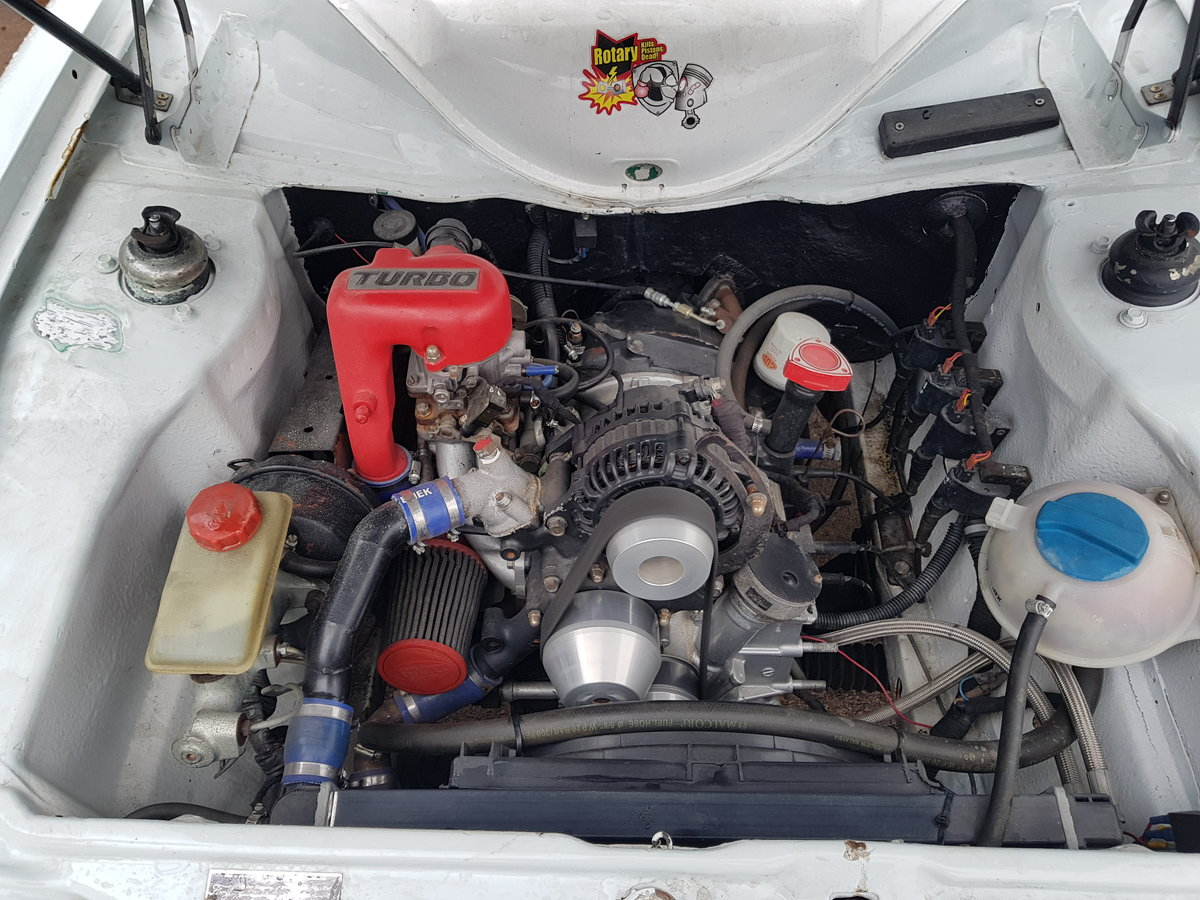 1975 Ford Escort Mk2 Van - Mazda Rotary Turbo engine For Sale (picture 5 of 6)