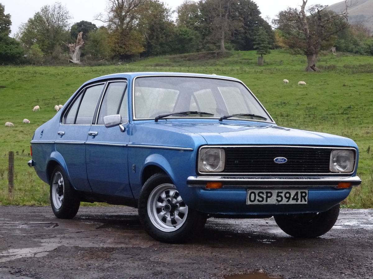 1976 Escort Mk2 1 Lady Owner 29K miles UK Car For Sale (picture 1 of 6)