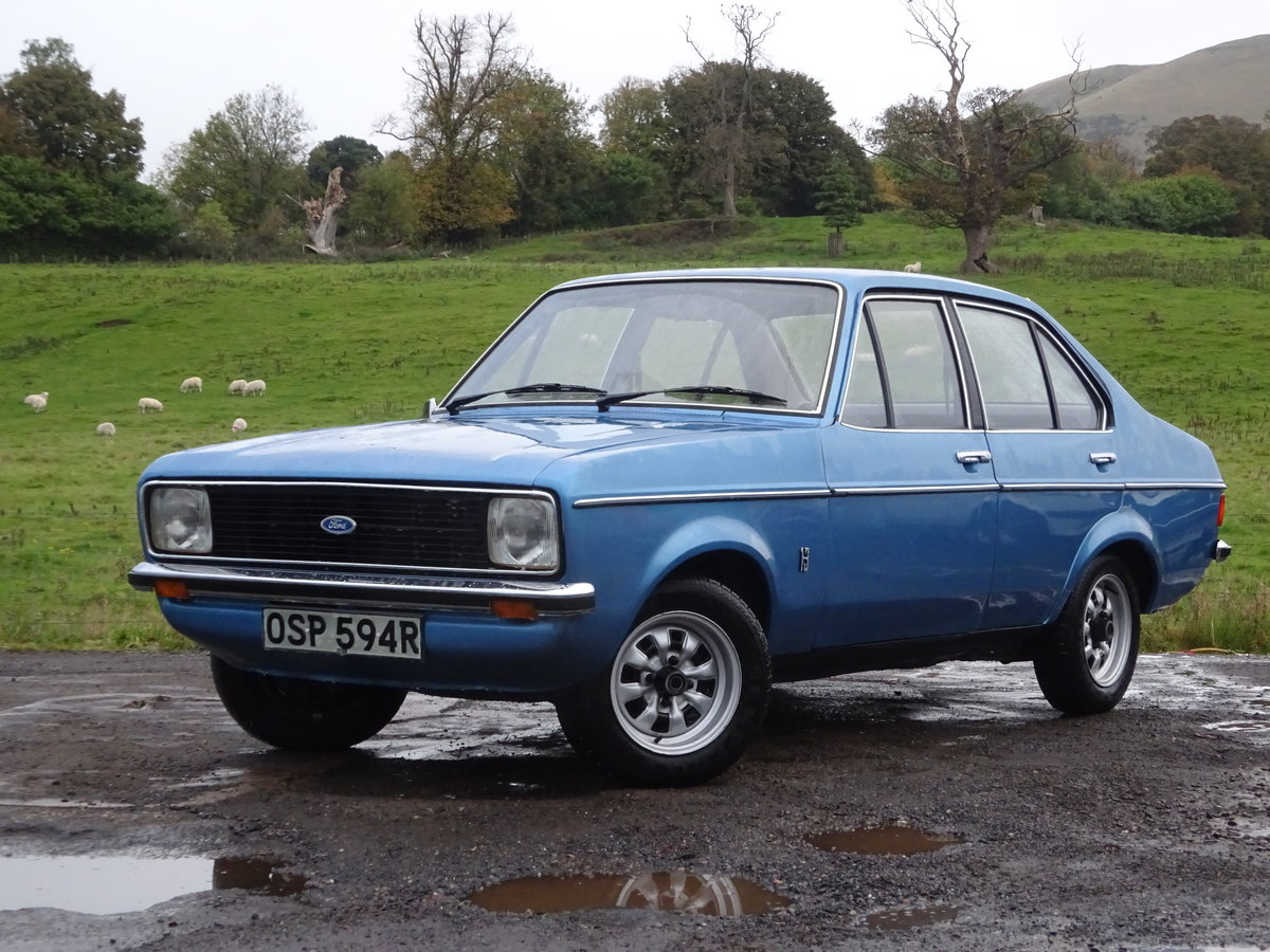 1976 Escort Mk2 1 Lady Owner 29K miles UK Car For Sale (picture 2 of 6)