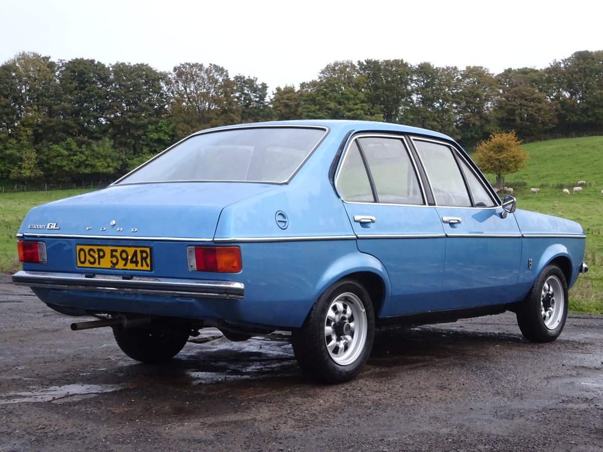 1976 Escort Mk2 1 Lady Owner 29K miles UK Car For Sale (picture 3 of 6)