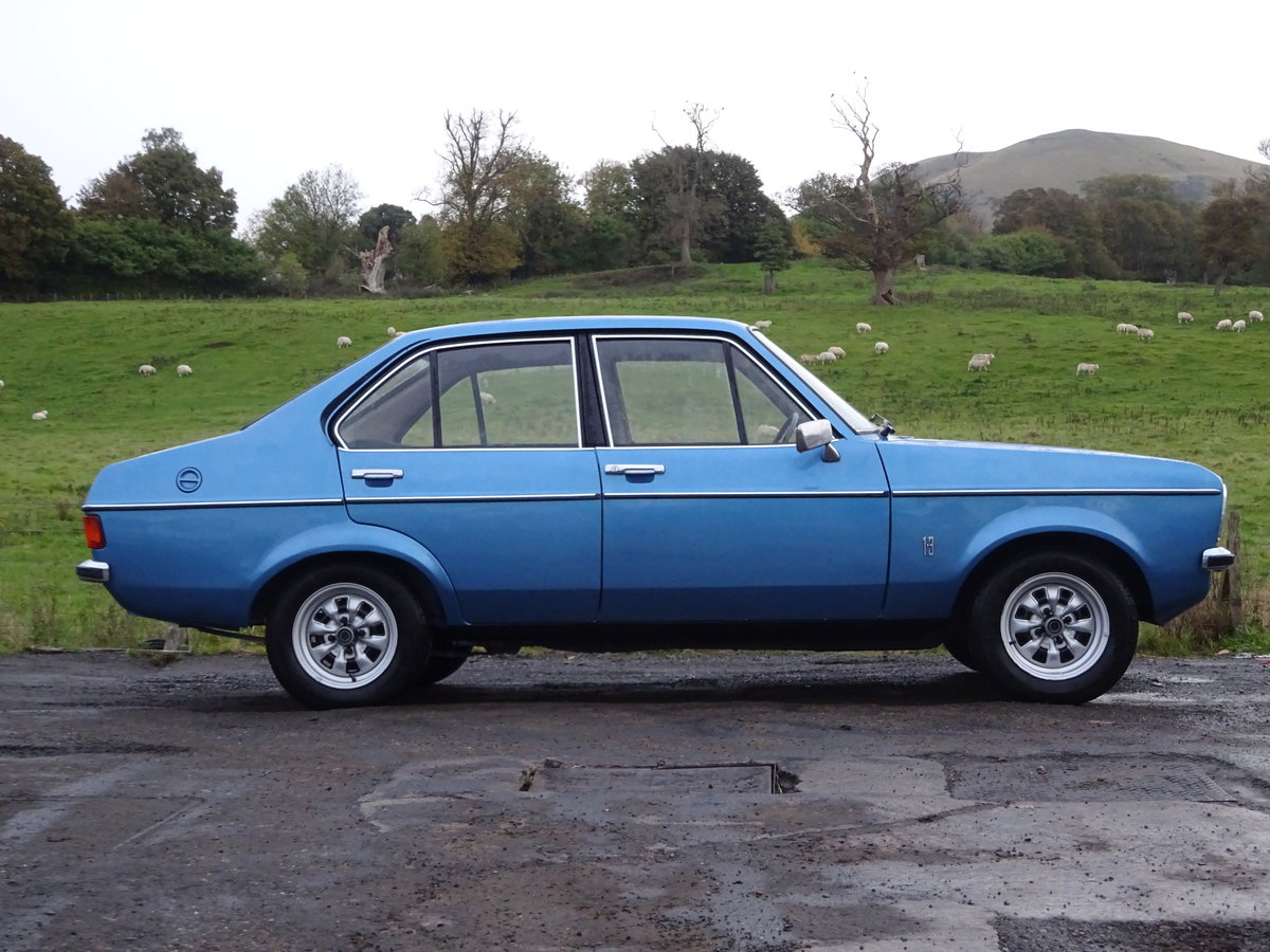 1976 Escort Mk2 1 Lady Owner 29K miles UK Car For Sale (picture 6 of 6)