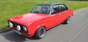 Picture of 1980 low mileage Ford escort recently refurbished