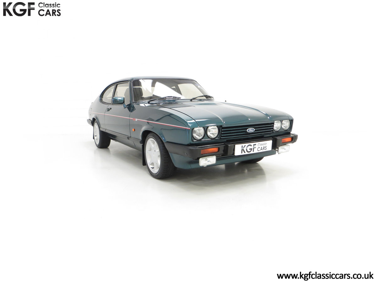 1987 A Fabulous Limited Edition Ford Capri 280 Brooklands For Sale (picture 1 of 24)