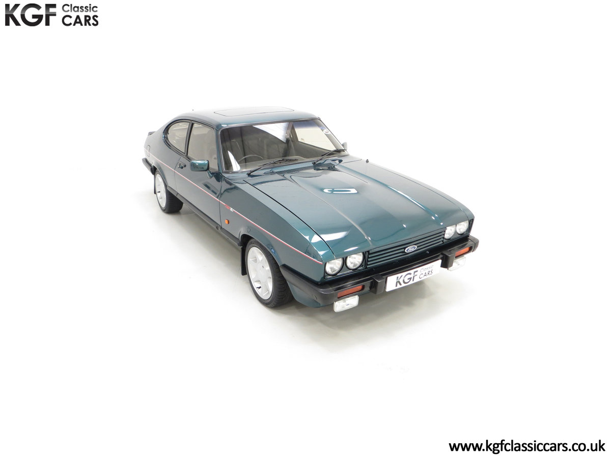 1987 A Fabulous Limited Edition Ford Capri 280 Brooklands For Sale (picture 2 of 24)