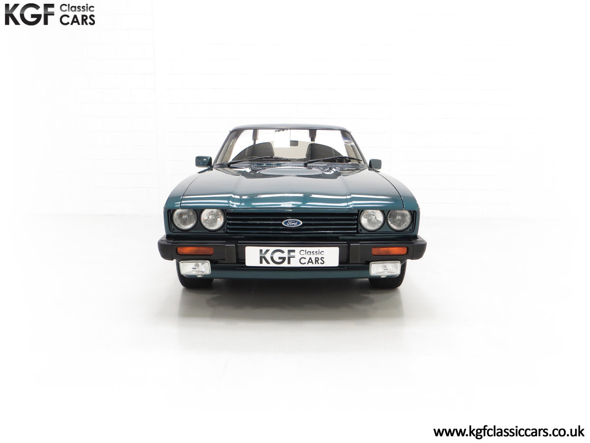 1987 A Fabulous Limited Edition Ford Capri 280 Brooklands For Sale (picture 3 of 24)