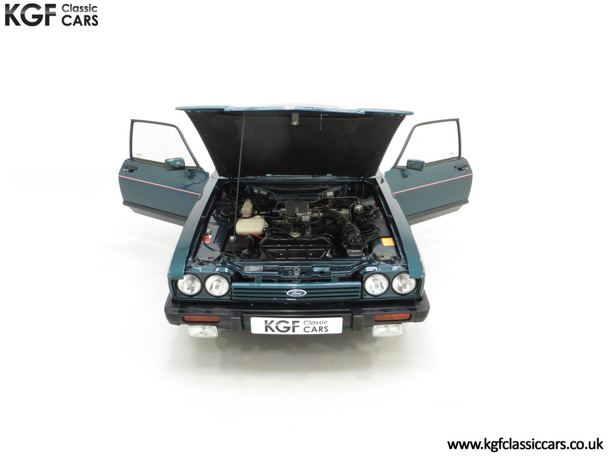 1987 A Fabulous Limited Edition Ford Capri 280 Brooklands For Sale (picture 4 of 24)
