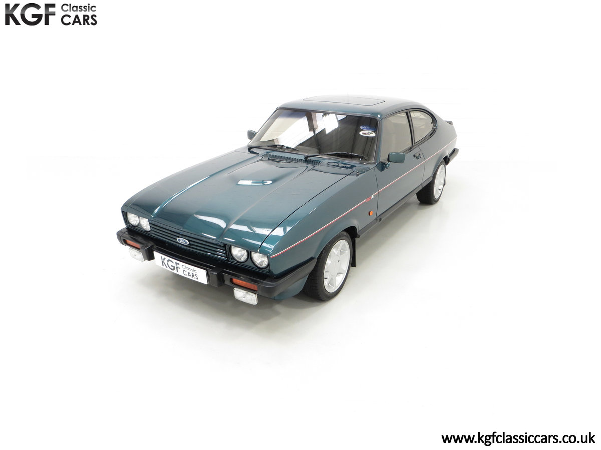 1987 A Fabulous Limited Edition Ford Capri 280 Brooklands For Sale (picture 5 of 24)