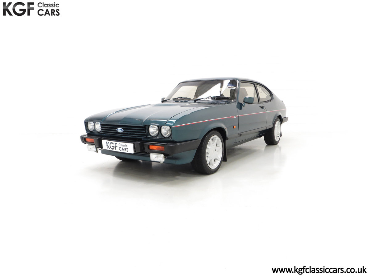 1987 A Fabulous Limited Edition Ford Capri 280 Brooklands For Sale (picture 6 of 24)