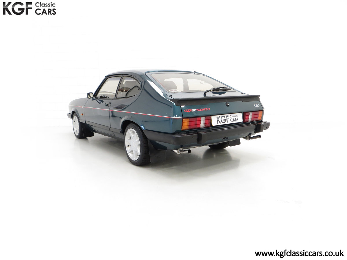 1987 A Fabulous Limited Edition Ford Capri 280 Brooklands For Sale (picture 8 of 24)