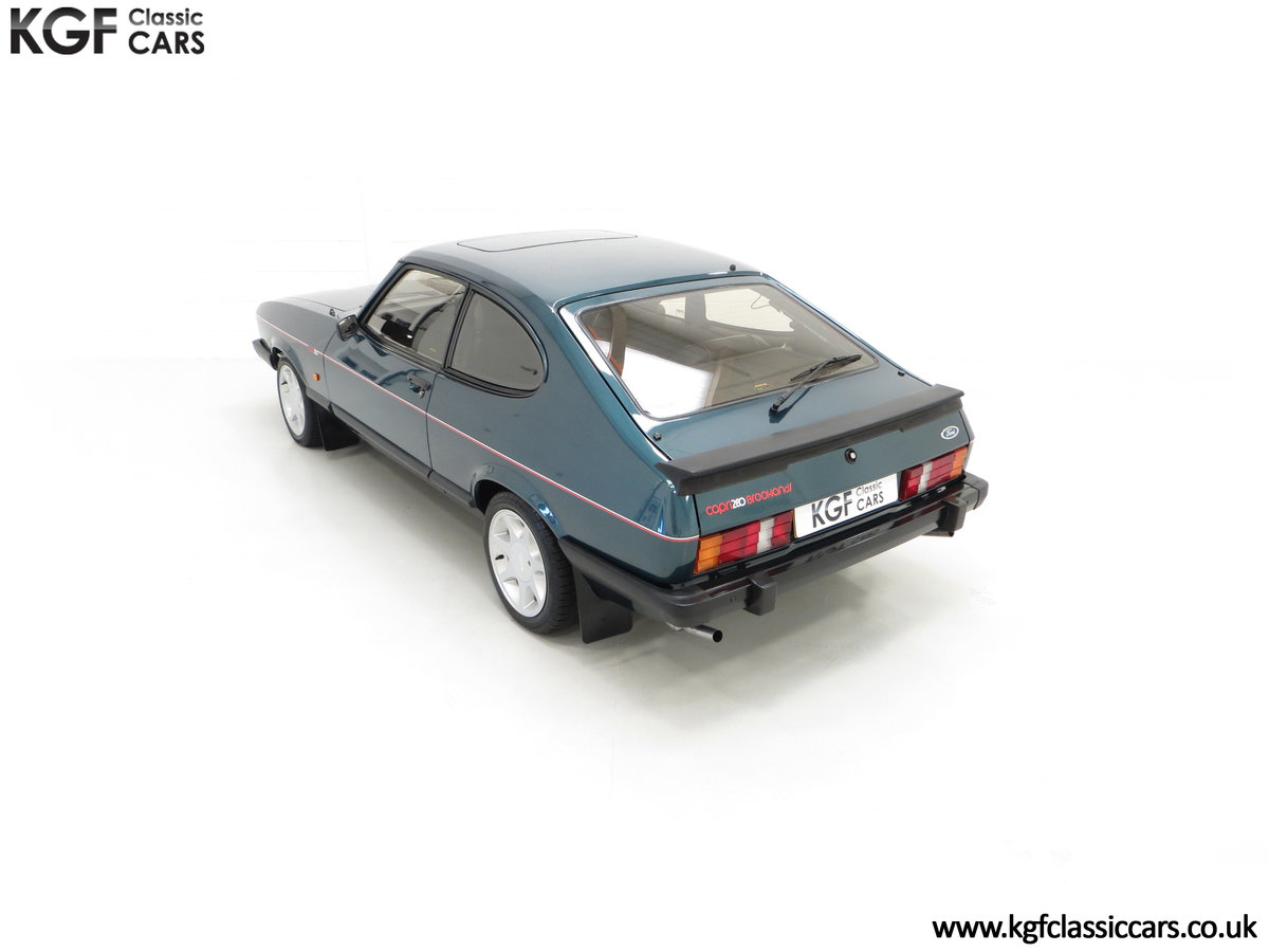 1987 A Fabulous Limited Edition Ford Capri 280 Brooklands For Sale (picture 9 of 24)
