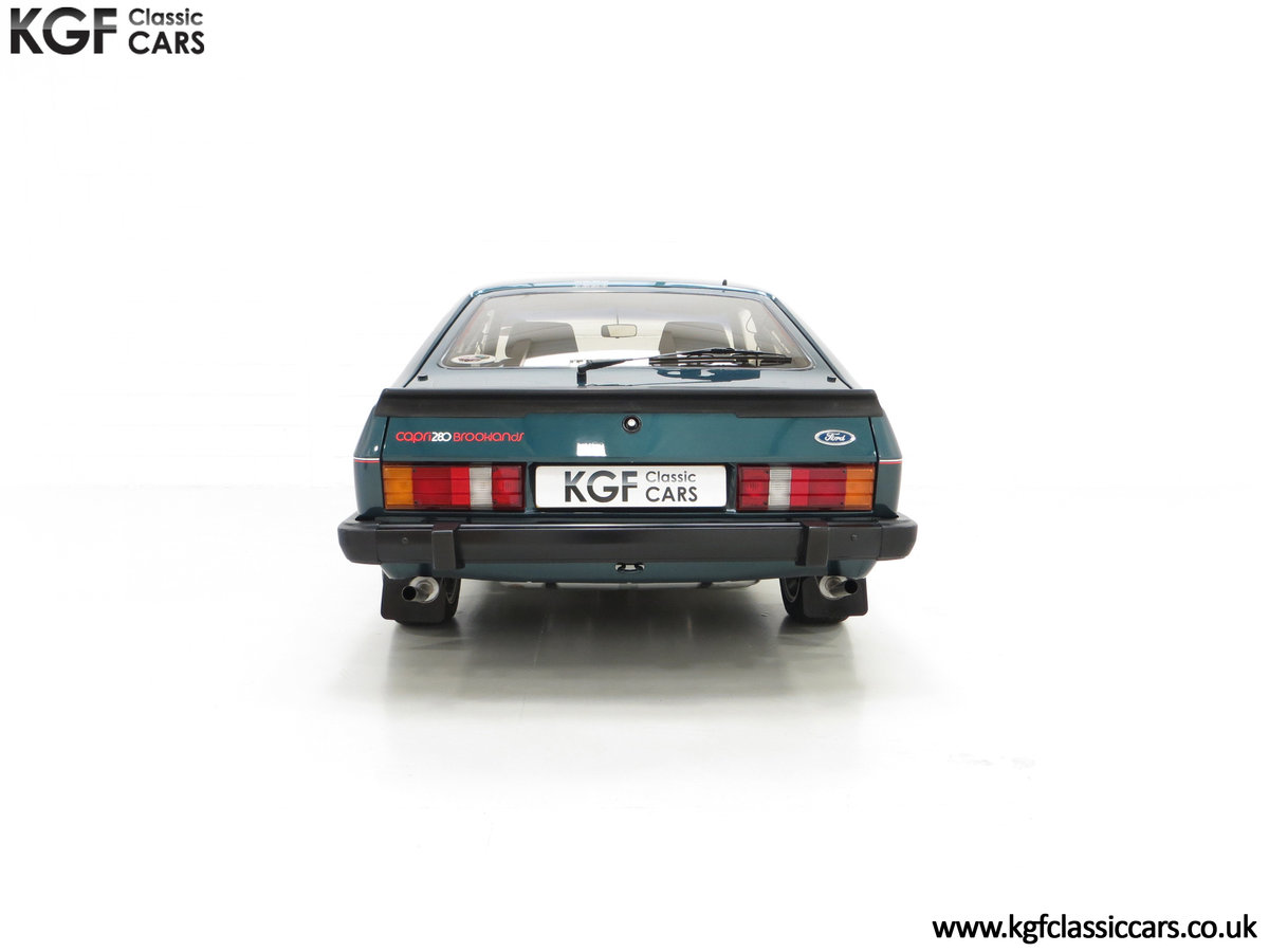 1987 A Fabulous Limited Edition Ford Capri 280 Brooklands For Sale (picture 10 of 24)