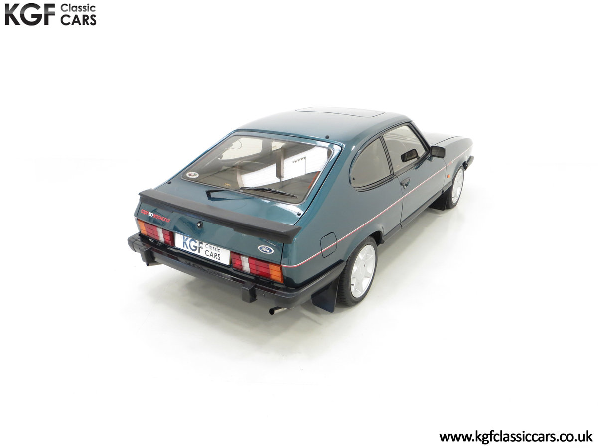 1987 A Fabulous Limited Edition Ford Capri 280 Brooklands For Sale (picture 12 of 24)