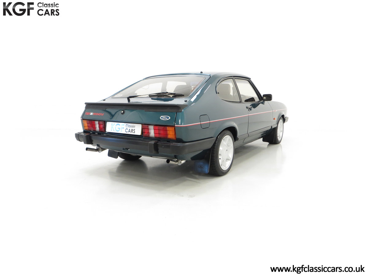 1987 A Fabulous Limited Edition Ford Capri 280 Brooklands For Sale (picture 13 of 24)