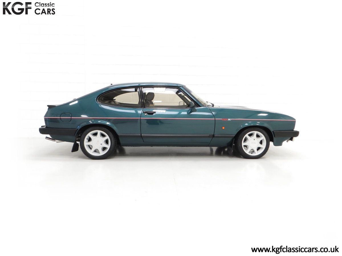 1987 A Fabulous Limited Edition Ford Capri 280 Brooklands For Sale (picture 14 of 24)