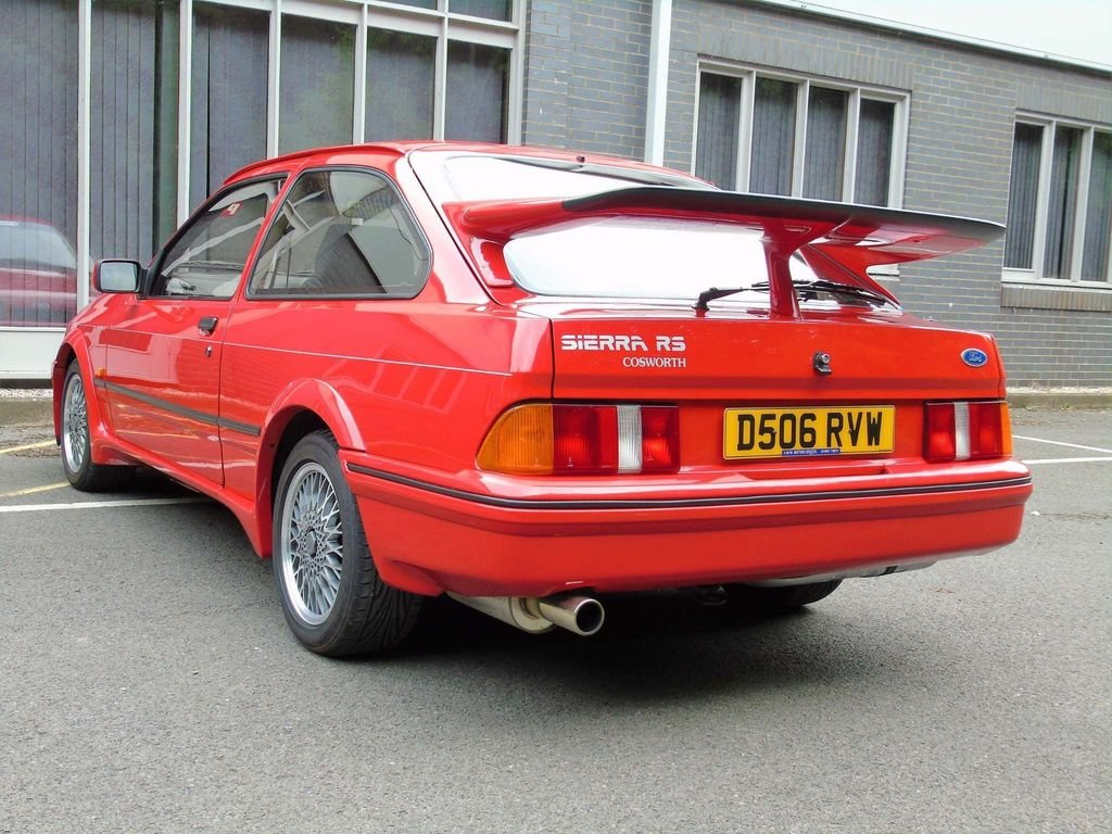 1986 Ford Sierra 2.0 LITRE RS COSWORTH  For Sale (picture 5 of 10)