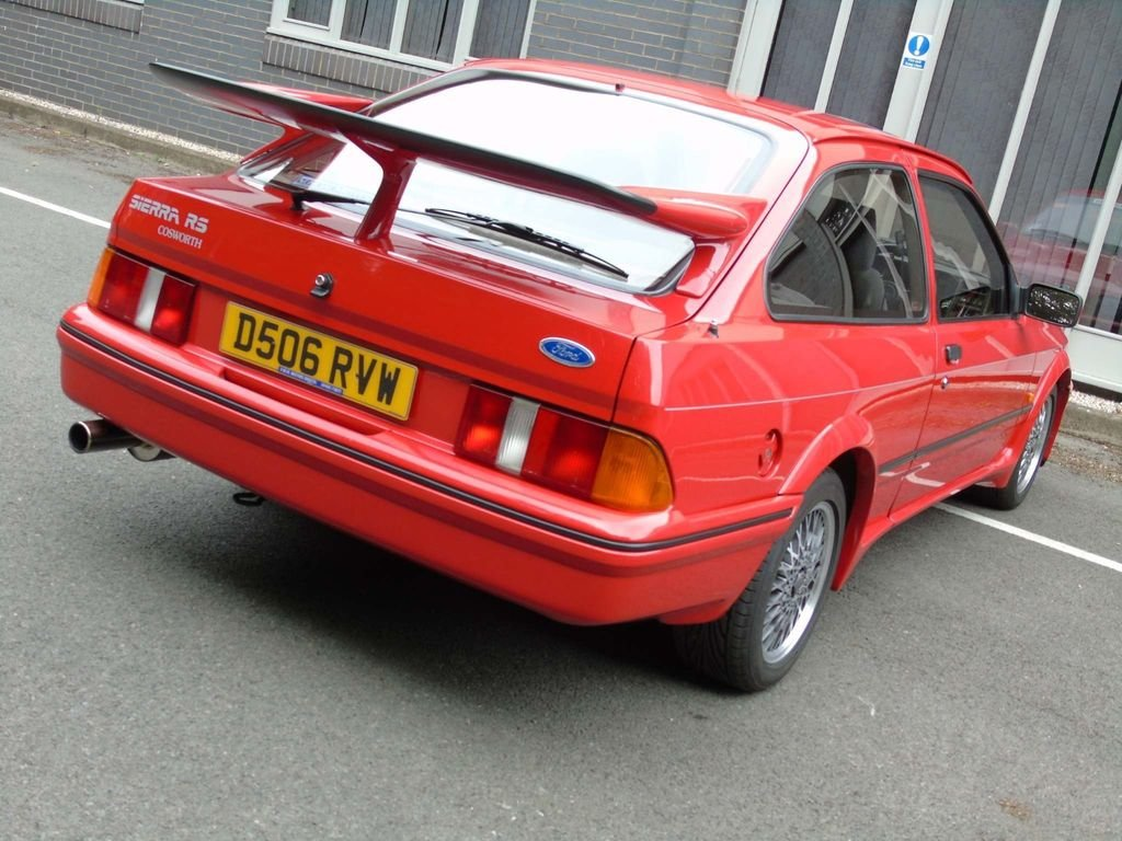 1986 Ford Sierra 2.0 LITRE RS COSWORTH  For Sale (picture 9 of 10)
