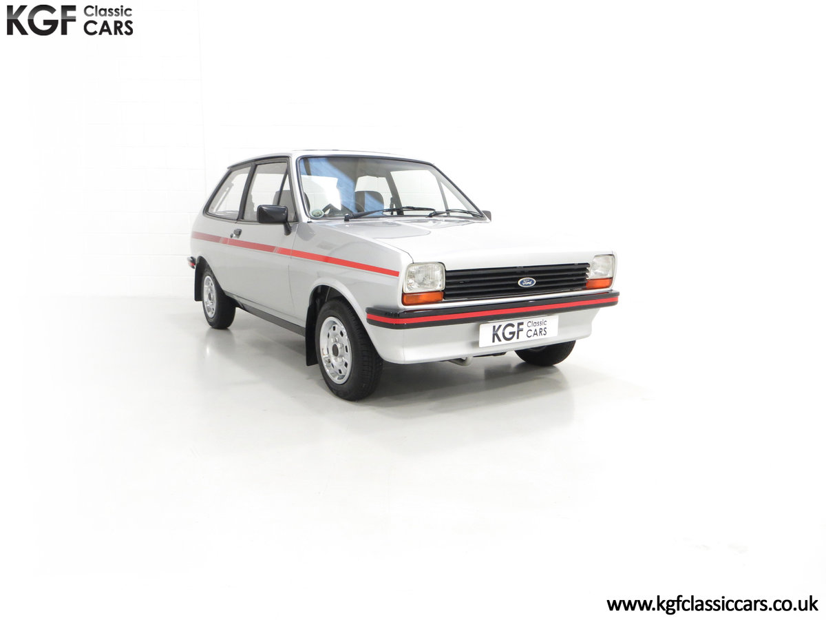1979 A Ford Fiesta Mk1 Million with Just 25,502 Miles For Sale (picture 1 of 24)