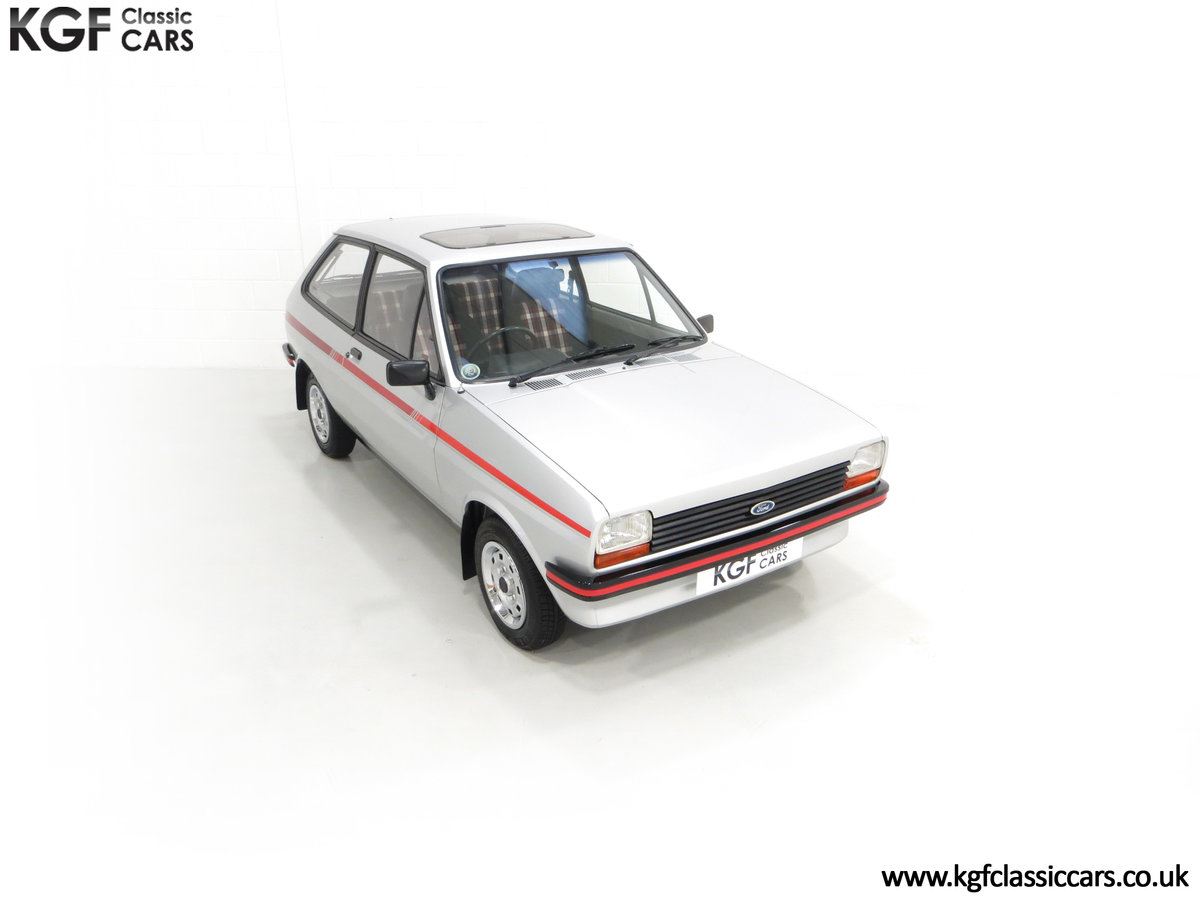 1979 A Ford Fiesta Mk1 Million with Just 25,502 Miles For Sale (picture 2 of 24)