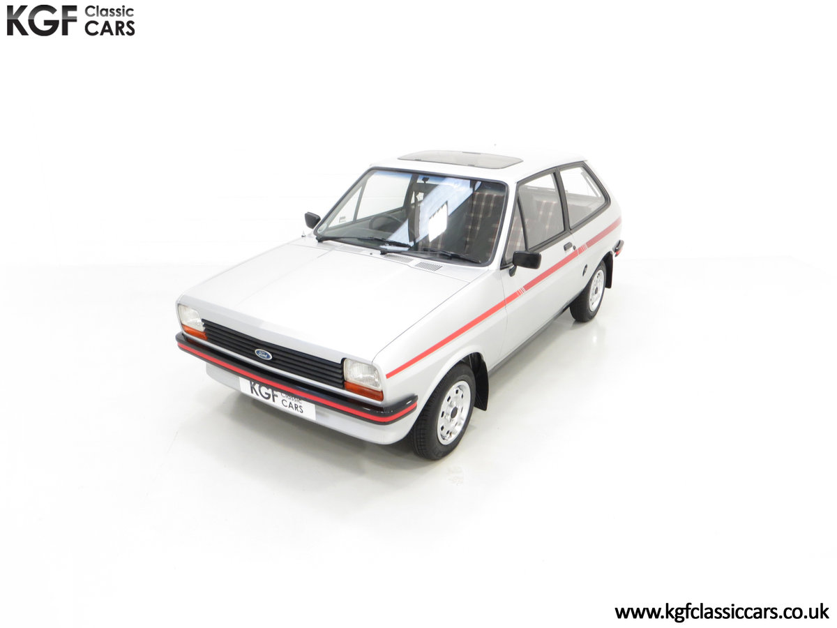1979 A Ford Fiesta Mk1 Million with Just 25,502 Miles For Sale (picture 5 of 24)