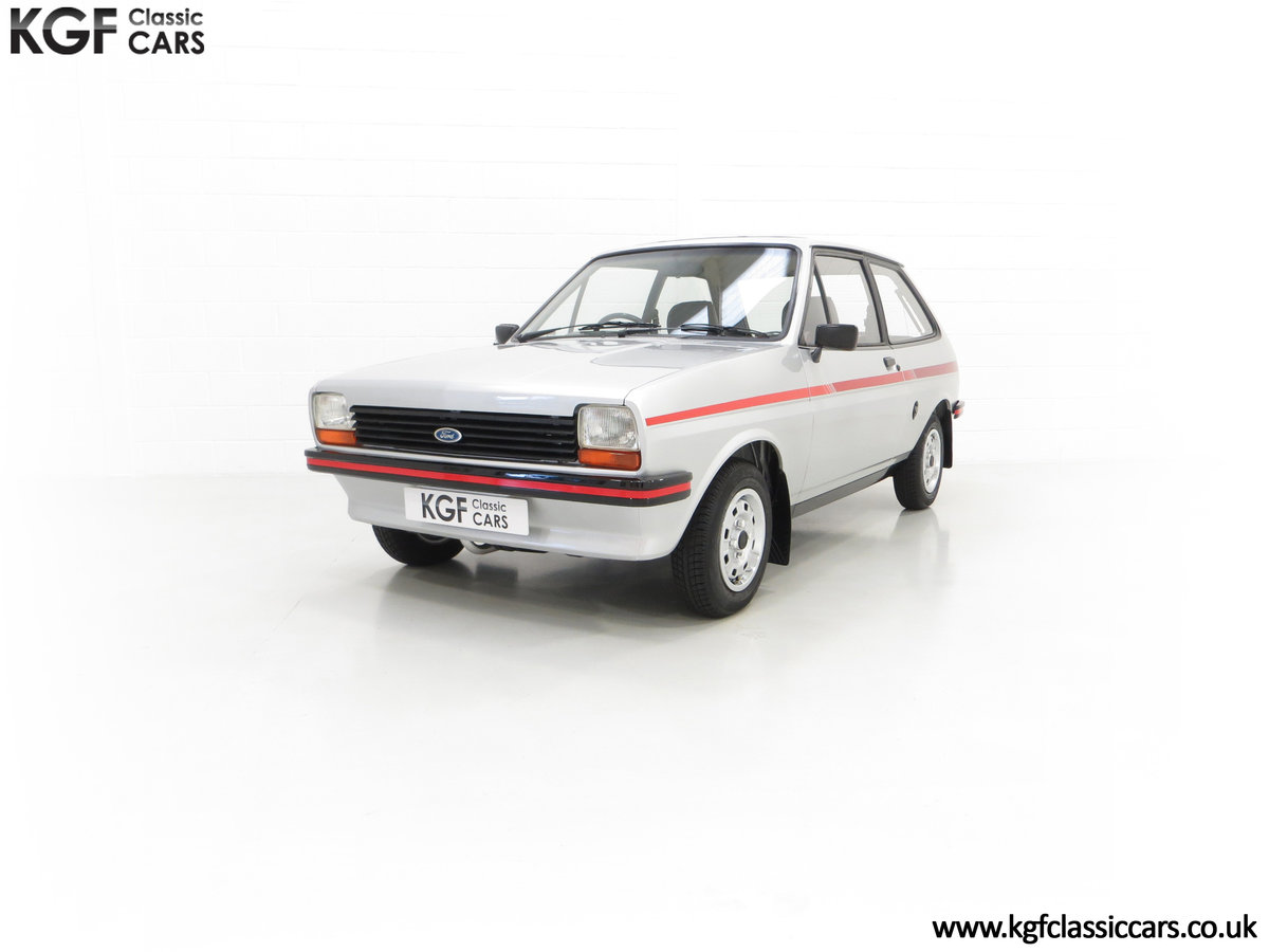 1979 A Ford Fiesta Mk1 Million with Just 25,502 Miles For Sale (picture 6 of 24)