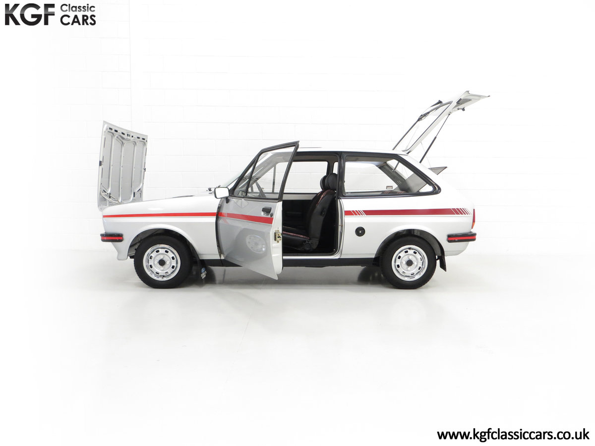 1979 A Ford Fiesta Mk1 Million with Just 25,502 Miles For Sale (picture 7 of 24)