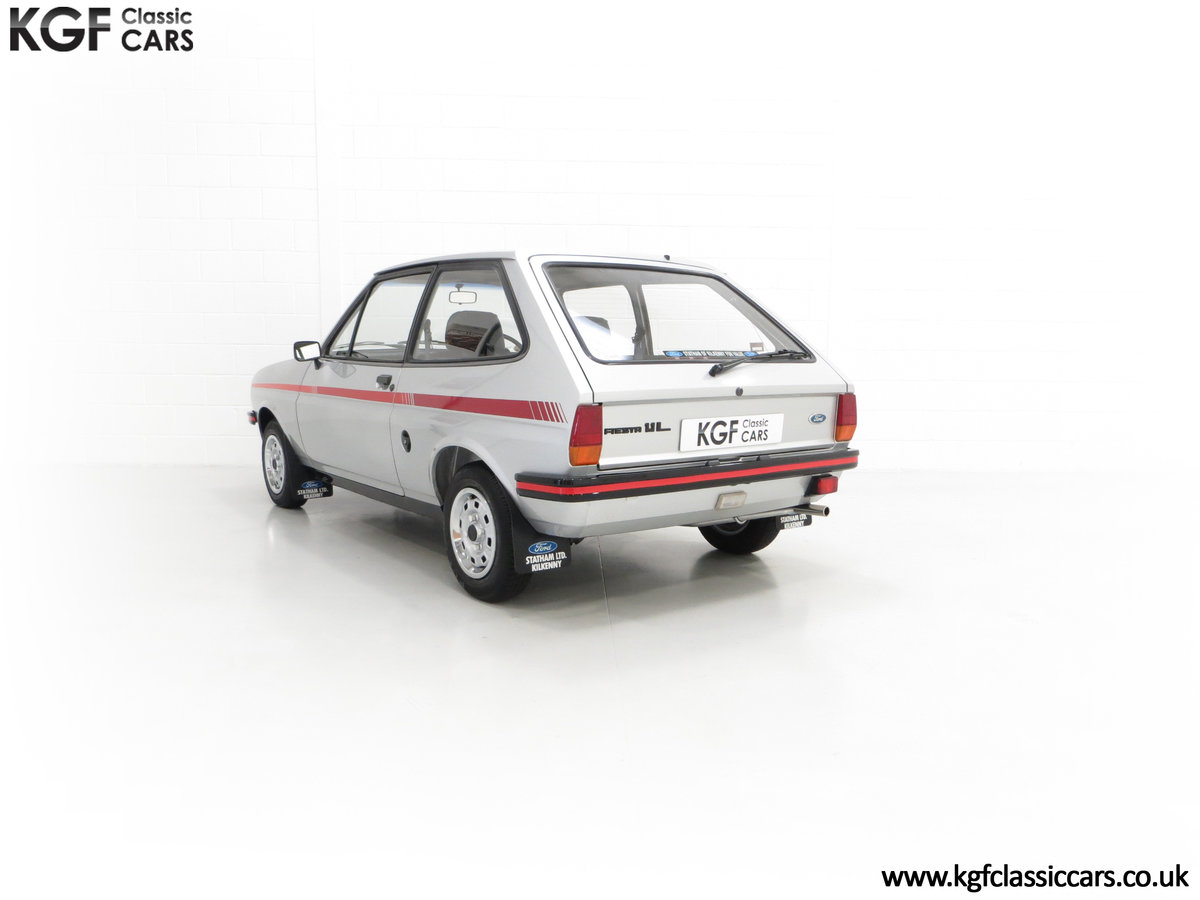 1979 A Ford Fiesta Mk1 Million with Just 25,502 Miles For Sale (picture 8 of 24)