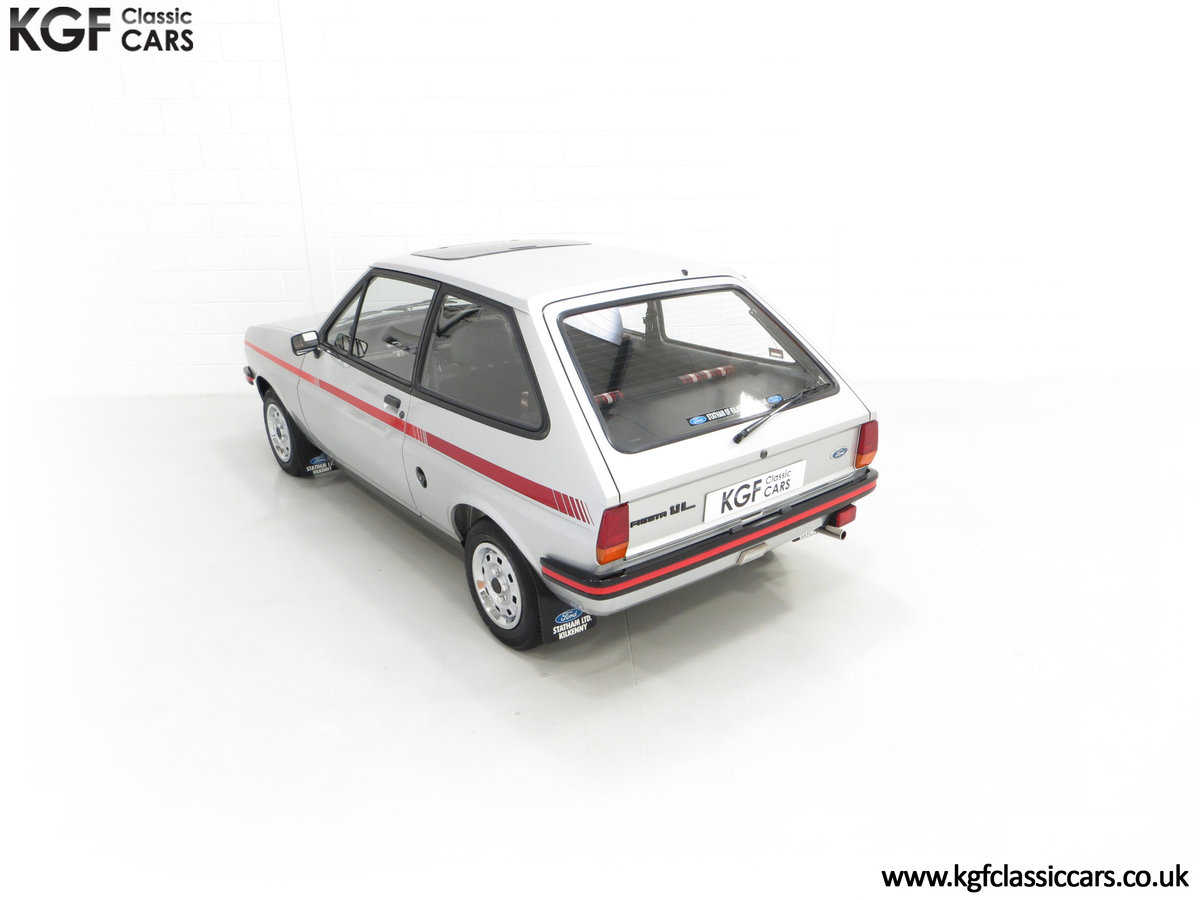 1979 A Ford Fiesta Mk1 Million with Just 25,502 Miles For Sale (picture 9 of 24)