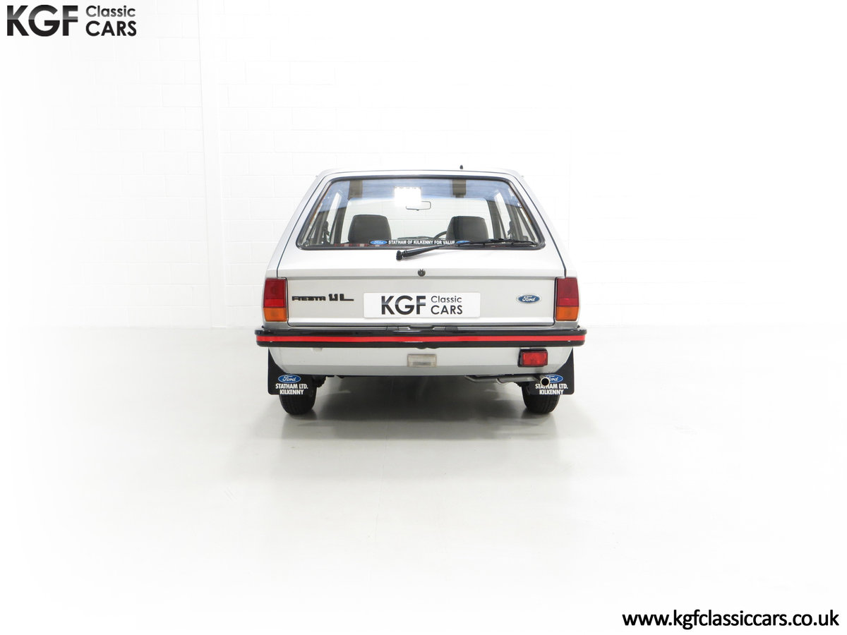 1979 A Ford Fiesta Mk1 Million with Just 25,502 Miles For Sale (picture 10 of 24)