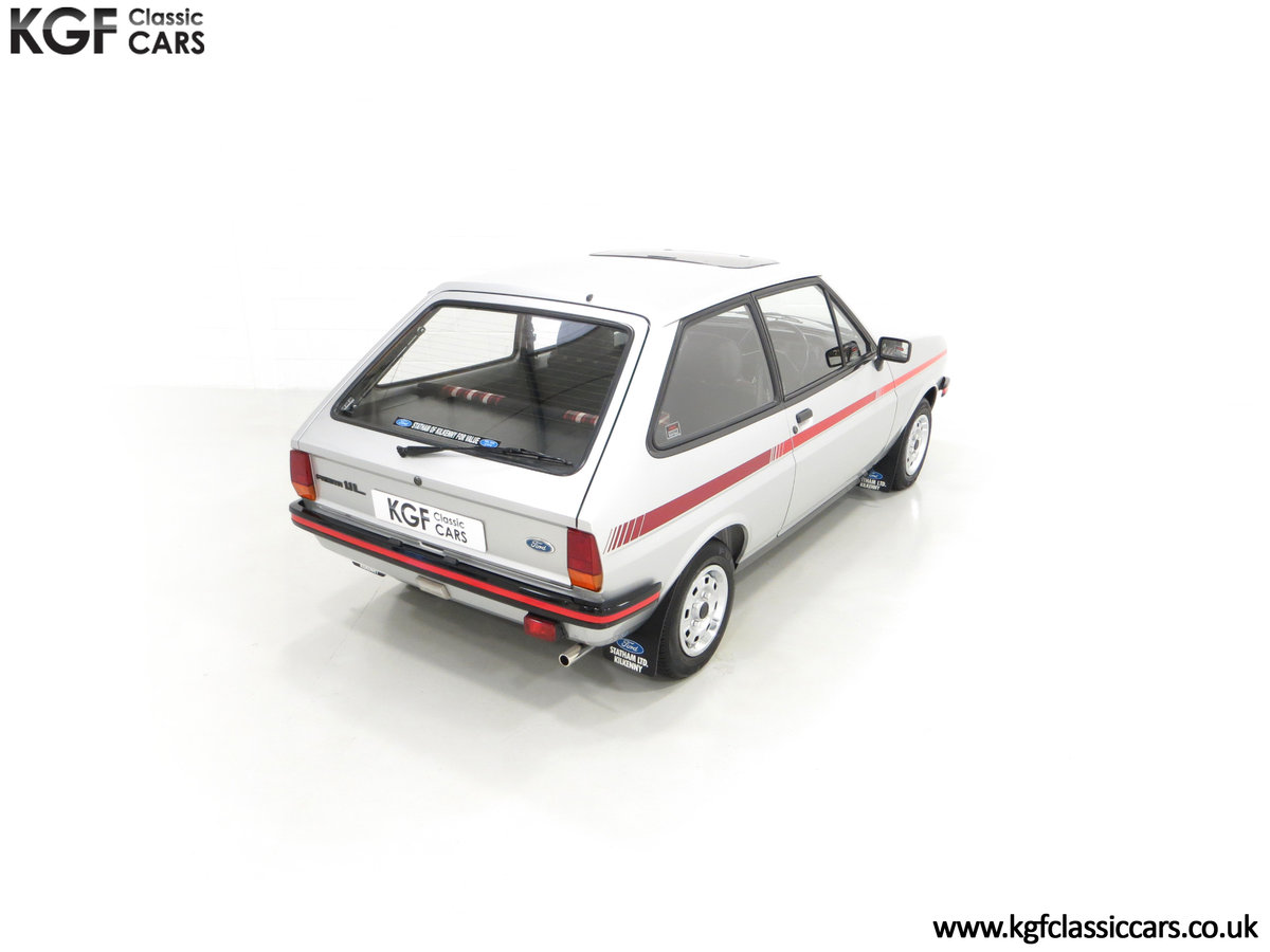 1979 A Ford Fiesta Mk1 Million with Just 25,502 Miles For Sale (picture 12 of 24)