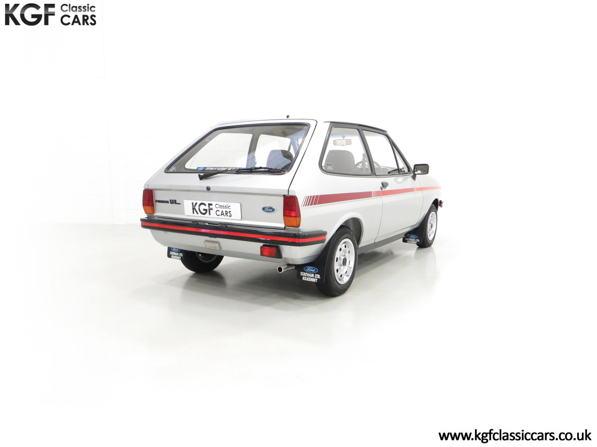 1979 A Ford Fiesta Mk1 Million with Just 25,502 Miles For Sale (picture 13 of 24)