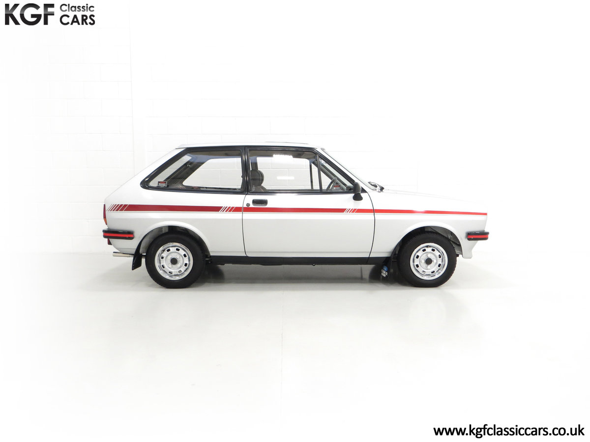 1979 A Ford Fiesta Mk1 Million with Just 25,502 Miles For Sale (picture 14 of 24)
