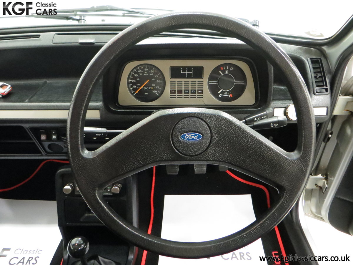 1979 A Ford Fiesta Mk1 Million with Just 25,502 Miles For Sale (picture 23 of 24)