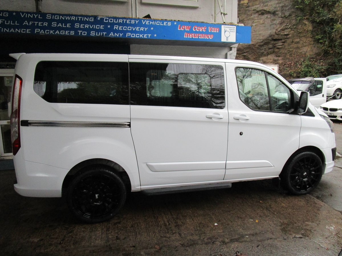 2013 63 FORD TRANSIT CUSTOM TOURNEO 2.0 TDCI 6 SPD MANUAL 9  For Sale (picture 2 of 6)