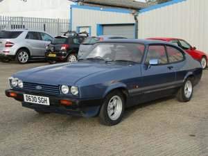 Picture of 1987 Ford Capri 1.6 Laser at ACA 7th November