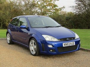 Picture of 2003 Ford Focus 2.0 RS MK I at ACA 7th November