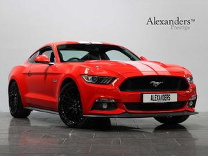 17 17 FORD MUSTANG GT 5.0 V8 FASTBACK MANUAL