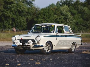 1967 Ford Cortina Lotus Mk 1 Rally Car
