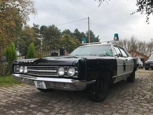 Ford Galaxie Cop Car