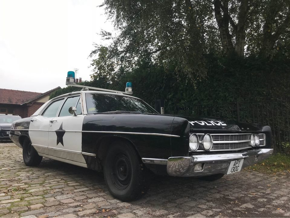 1969 Ford Galaxie Cop Car For Sale (picture 2 of 6)