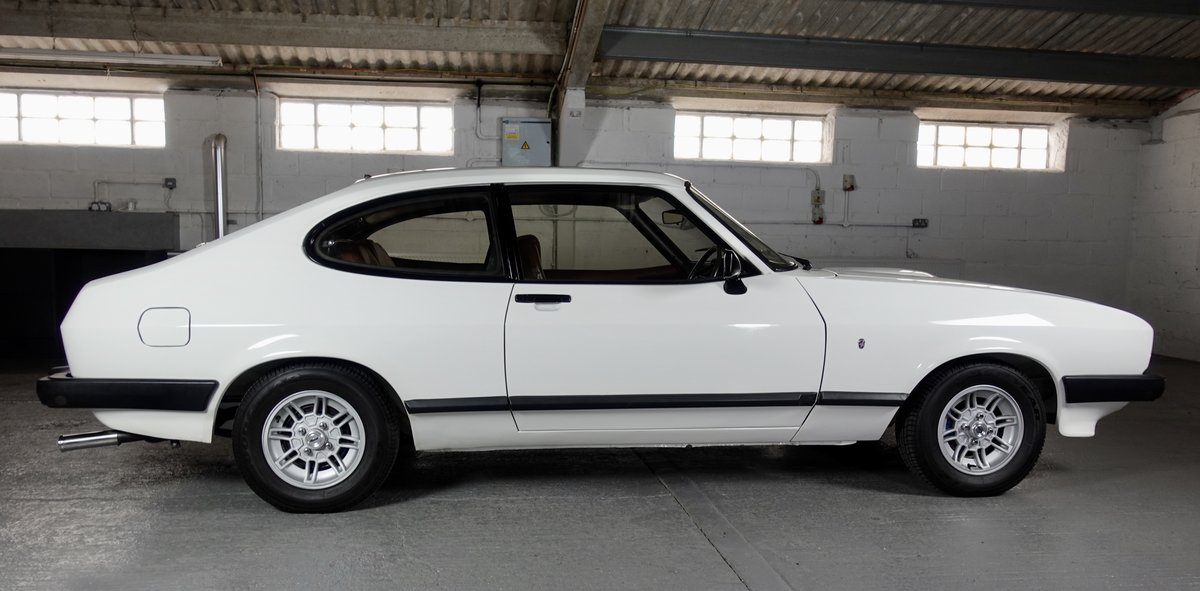 1978 Ford Capri MK3 3.0 Ghia Manual For Sale (picture 3 of 6)