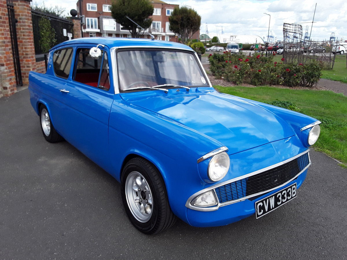 1964 3 owner Anglia 105e 1.6 5 sp twin 45s For Sale (picture 2 of 6)