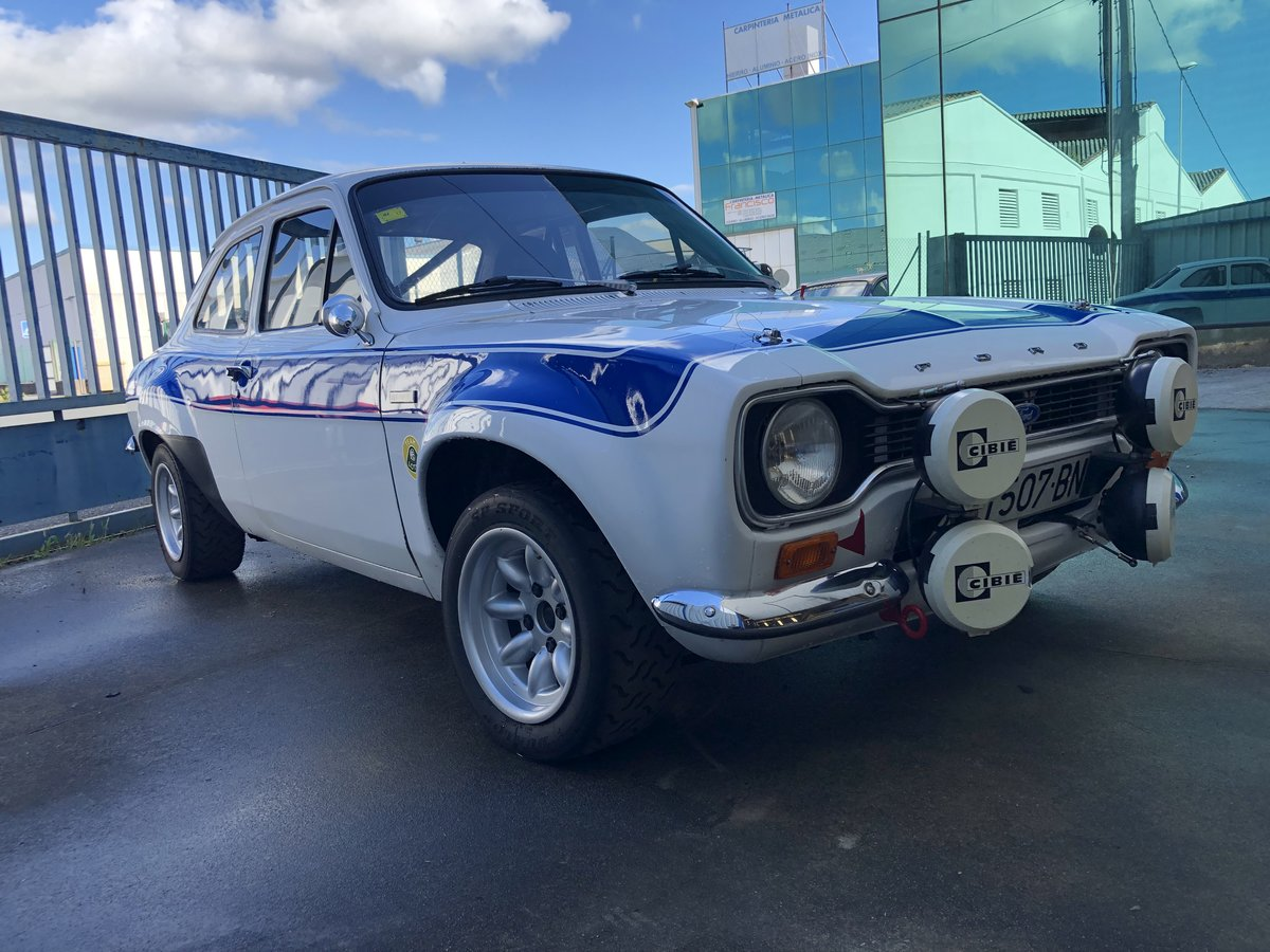 1970 Escort MK1 AVO Mexico - Lotus Twin Cam engine For Sale (picture 2 of 6)